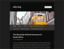 Tablet Preview of akliving.co.za